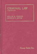 Boyce Criminal Law - Ed3