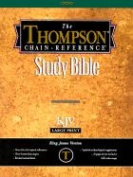 Thompson Chain Reference Bible-KJV-Large Print [Large Print]