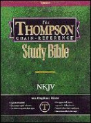 Thompson Chain-Reference Study Bible-NKJV