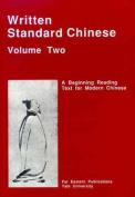 Written Standard Chinese