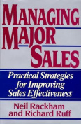 Managing Major Sales