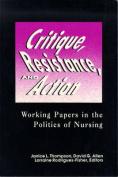 Critique, Resistance and Action
