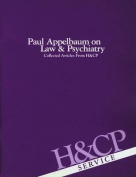 Paul Appelbaum on Law and Psychiatry