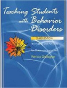 Teaching Students with Behavior Disorders