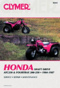 Honda Shaft Drive ATC250 and Fourtrax 200-250cc, 1984-87