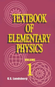 Textbook of Elementary Physics