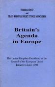 Britain's Agenda in Europe