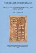The Latin Alexander Trallianus
