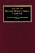 Twelfth Mental Measurements Yearbook