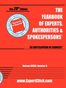 Yearbook of Experts, Authorities & Spokespersons, 28th Final