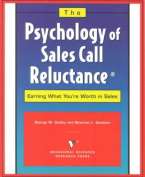 The Psychology of Sales Call Reluctance