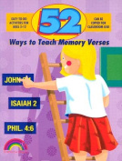 52 Ways to Teach Memory Verses