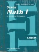 Saxon Math 1 - Student Workbook & Materials