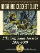 Boone and Crockett Club's 27th Big Game Awards