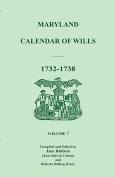 Maryland Calendar of Wills, Volume 7