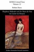 'Phosphorus Hollunder' Und 'Der Posten Der Frau' Von Louise Von Francois