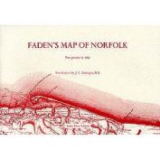 Faden's Map of Norfolk