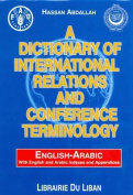 A Dictionary of International Relations and Conference Terminology