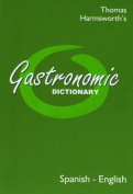 Gastronomic Dictionary Spanish-English