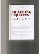 Quaffing Quotes