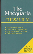 The Macquarie Budget Thesaurus
