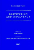 Restitution and Insolvency