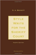 Style Writs for the Sheriff Court