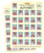 Let's Sign BSL Children's Fingerspelling Alphabet Charts