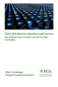 Tricky Job Interview Questions and Answers