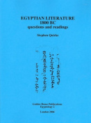 Egyptian Literature 1800 BC