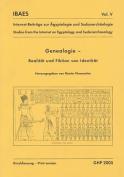 Genealogie, Realitat Und Fiktion Von Identitat  [GER]