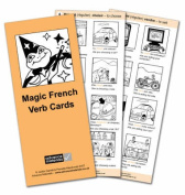 Magic French Verb Cards Flashcards (8) [FRE]
