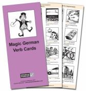 Magic German Verb Cards Flashcards (8) [GER]