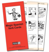 Magic Spanish Verb Cards Flashcards (8) [Spanish]