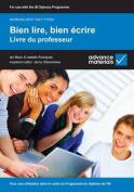 Bien Lire, Bien Ecrire Teacher's Book [FRE]