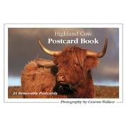 Highland Cow Postcard Book