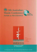 "Proceedings of the 13th Australian Weeds Conference - Weeds ""Threats Now and for Ever?"""