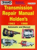 Transmission Repair Manual Holden's 1963-1988