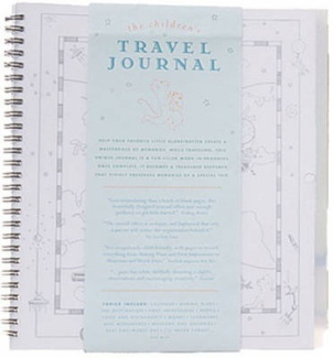The Children's Travel Journal (Spiral)