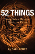 52 Things Every Sales Manager Needs to Know