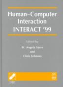 Human-Computer Interaction - Interact '99
