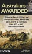 Australians Awarded