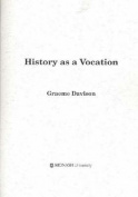 History as a Vocation