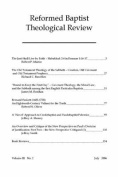 Reformed Baptist Theological Review III