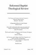Reformed Baptist Theological Review IV