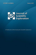 Journal of Scientific Exploration 24