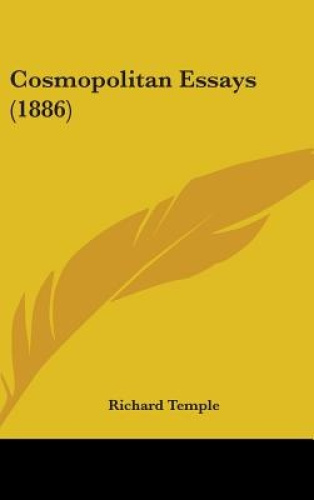 Cosmopolitan-Essays-1886-by-Richard-Temple