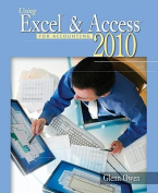 Using Excel & Access for Accounting 2010 [With CDROM]