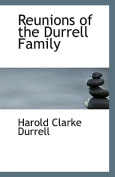 Reunions of the Durrell Family