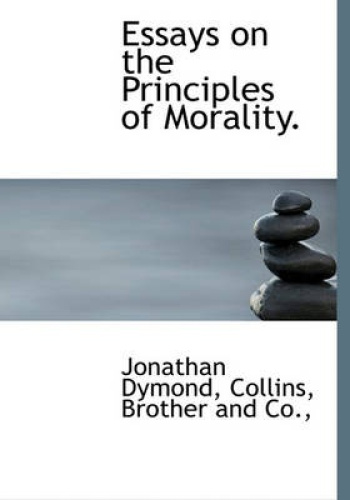 essays on moral philosophy